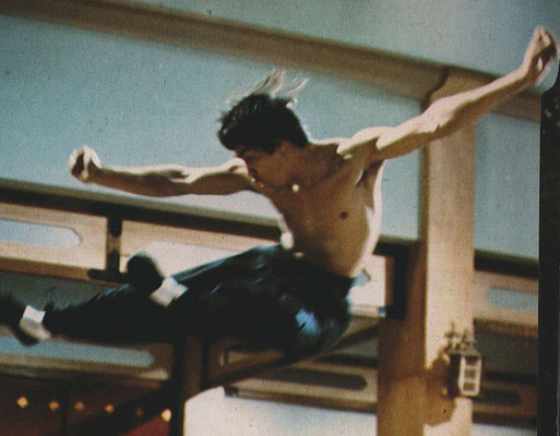 Bruce Lee in Chinese Connection (Fists Of Fury)