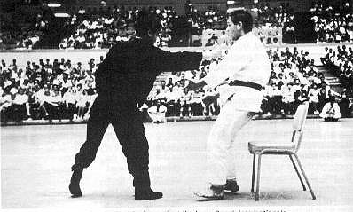 Bruce Lee at Ed PArker's Longbeach '64 tournament